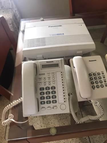 Central telefónica panasonic kx tes824 combo en $350