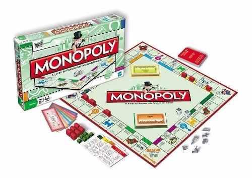 Monopolio monopoly juego de mesa familiar original hasbro