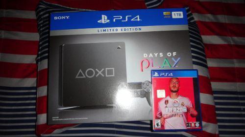 Playstation 4 1tb days of play limited nuevo y sellado