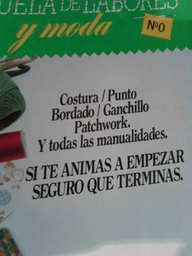 Revistas escuela de labores con patrones