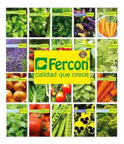 Semillas certificadas de hortalizas importadas 2 sobres