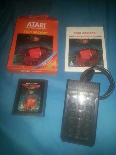 Star raiders atari 2600 completo video touch pad