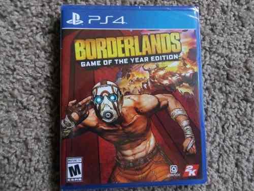 Borderlands goty ps4 nuevo sellado