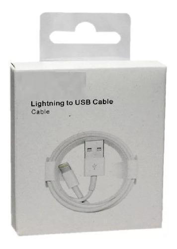 Cable usb iphone 5 5c 5s 6 6s 7 certificado 100% caja ccc
