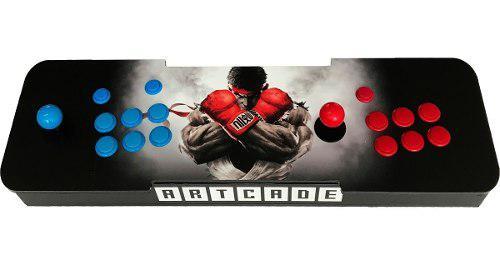 Máquina de arcade tipo consola 5000 juegos 2 jugadores