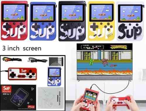 Nintendo sup 400 juegos control adicional tienda