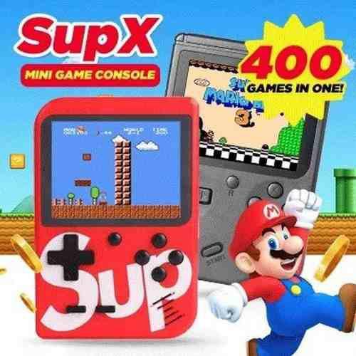 Nintendo sup mini consola videojuegos retro game box 400en1