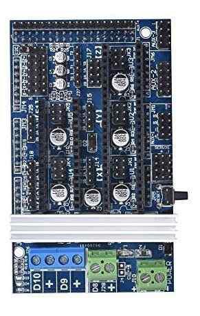 Para impresora kingprint rampa 1.6 panel control d4rt