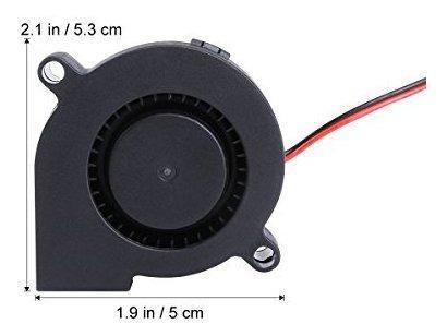 Para impresora ueetek 3 pcs dc 12 5 ventilador dtdt