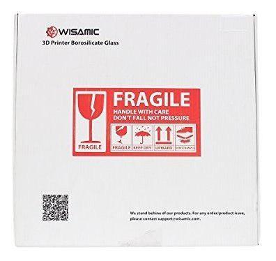 Para impresora wisamic transparente vidrio silicato dtwr