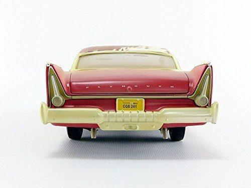 Plymouth fury christine dirty oxidado diecast modelo