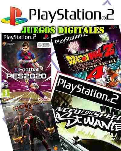 Ps2 Juegos Digitales / 2x1 Los Mejores Títulos