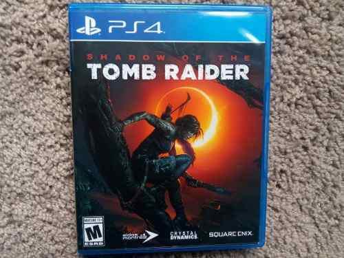 Shadow of the tomb raider ps4 nuevo sellado