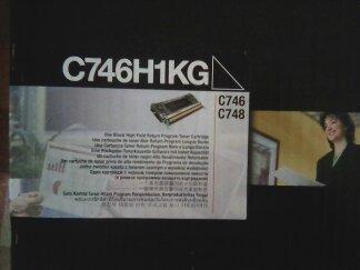 Tòner/ cartucho lexmark c746/c748