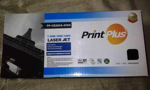 Toner print plus hp / original ce280a