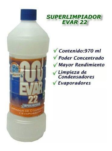 Acido Evar 22 Para Limpieza De Aires Acondicionados