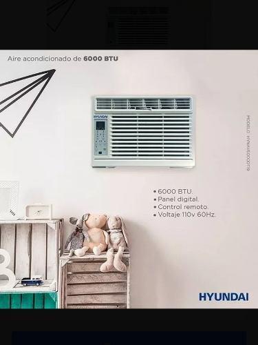 Aire acondicionado hyundai 6000 btu digital con control