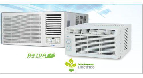 Aire acondicionado ventana 12000btu 220v r410 s/c khaled