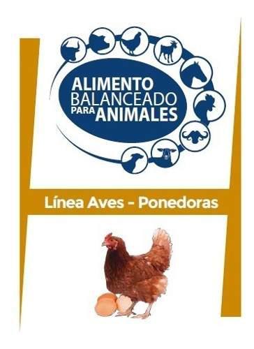 Alimento balanceado para gallinas ponedoras