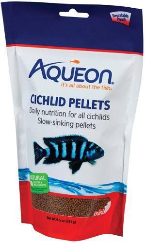 Alimento comida para peces ciclidos africanos importado 241g