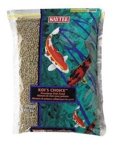 Alimento granulado peces koi kaytee americano 1 kg
