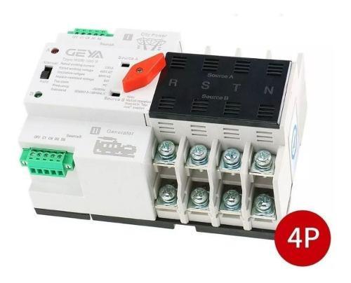 Ats transfer 4 fases 110v 100amp planta electrica nuevo