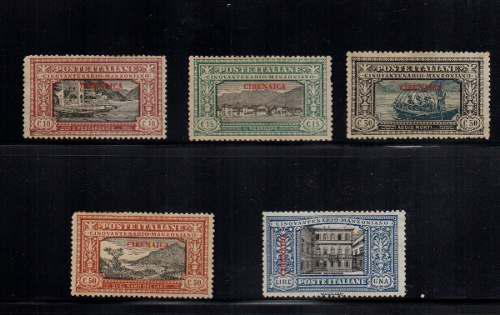 Estampillas italia-cirenaica 1924 nuevas