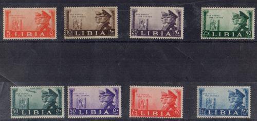 Estampillas italia-libia 1941 nuevas