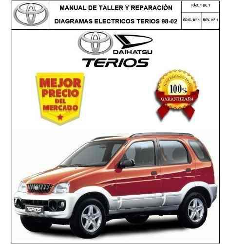 Manual diagramas electricos toyota terios 1998-2005