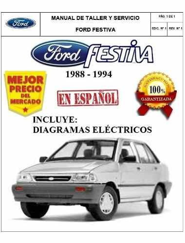 Manual Taller Diagramas Electricos Ford Festiva Español