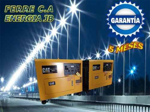 Planta eléctrica cat de 10kva diesel+ats