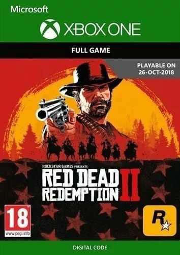 Red dead redemption ii xboxone código digital