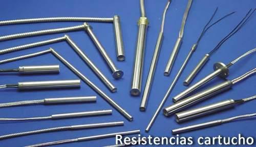 Resistencia eléctricas tipo cartuchos somos fabricantes