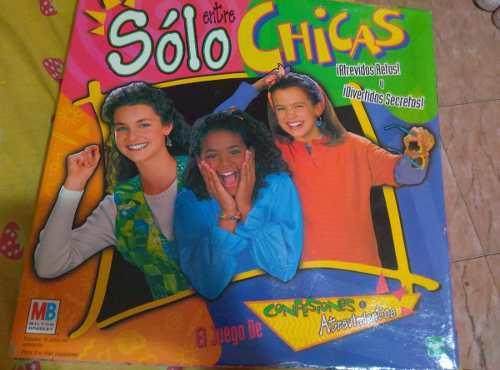 Solo entre chicas juego de mesa para niñas