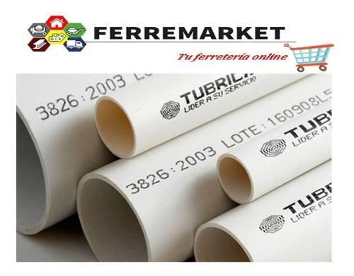 Tubo pvc de electricidad 3/4pulg 3mts