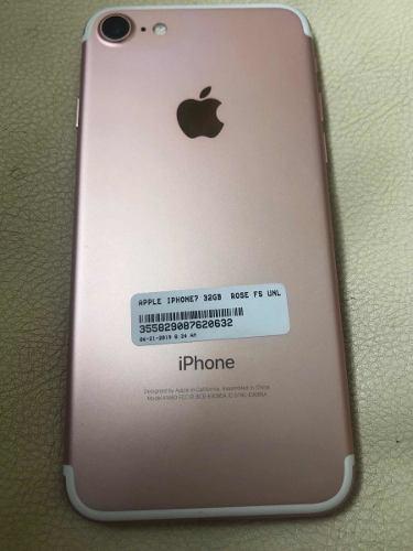 Iphone 7 liberados 32 gb traidos de usa