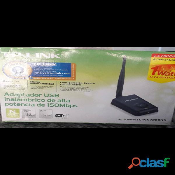 Antena adaptador de wifi