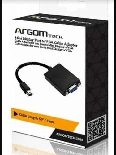Cable adaptador puerto mini display a vga para mac
