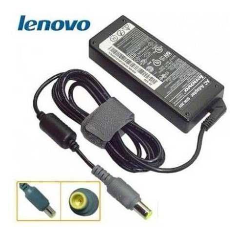 Cargador laptop lenovo 20v 4.5a 90w pin central