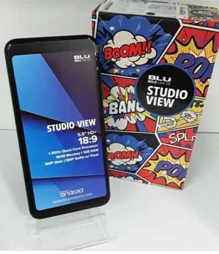 Celular blu studio view 5.5 16gb 1ooverdes camara de 8mp