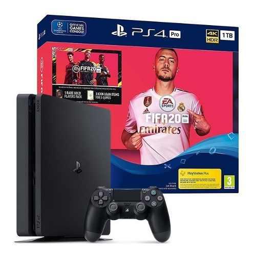 Consola ps4 slim bundle fifa 2020 de 1 tb + 1 control