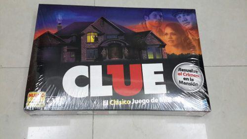Juego clue, el clásico juego de misterio de hasbro. 25