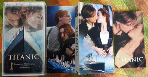 Película titanic original edición de colección vhs