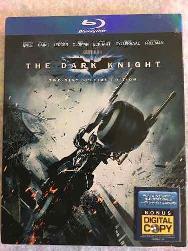 Pelicula Batman The Dark Knight Three Disc Special Edition