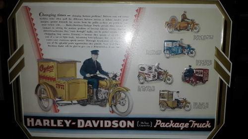 Placas O Latones Harley David Son De Época Son 3 Bellos