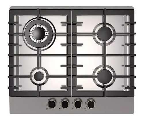 Tope de cocina a gas 60cm viotto