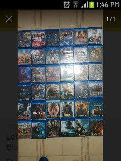 Vendo Peliculas Blu-ray