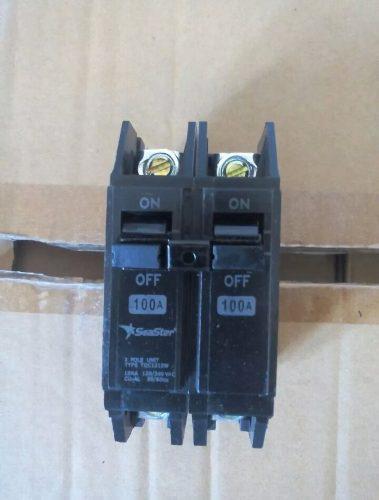 Breaker seastar superfial thqc 2x100 amp