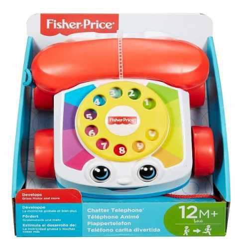Fisher-price chatter telephone primer teléfono om1