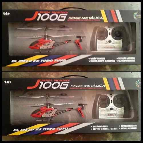 Helicóptero A Control Remoto J100g